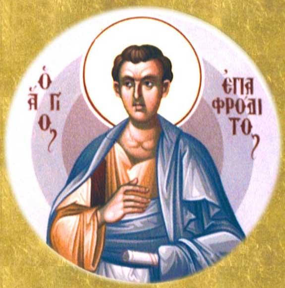 ST. EPAPHRODITUS, Apostle of the Seventy