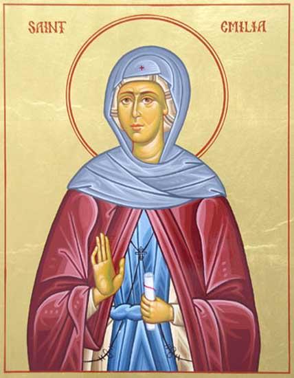 IMG ST. EMILIA, Emmelia, Mother of Saints Macrina,img Basil the Great, Naucratius, Peter of Sebaste, and Gregory of Nyssa