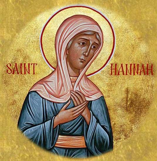 ST. HANNAH, Mother of the Prophet Samuel