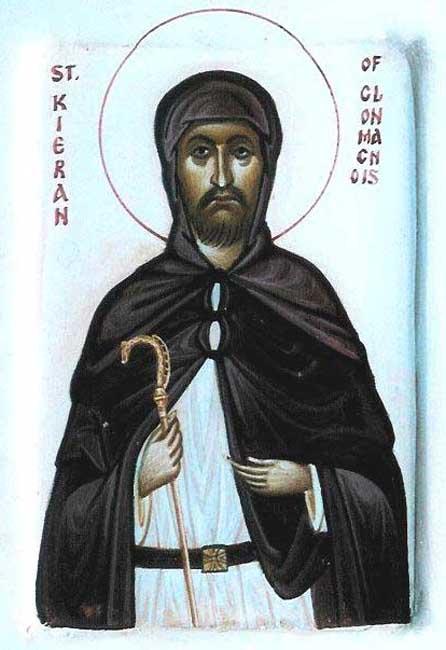 IMG  ST. KIERAN, Kyran, The Younger, One of the Twelve Apostles of Ireland