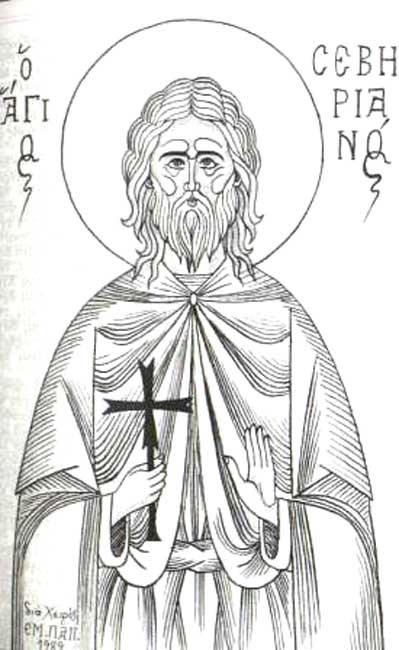 IMG ST. SEVERIAN, Martyr