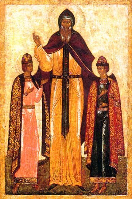 IMG ST. THEODORE, the Prince of Smolensk and Yaroslav