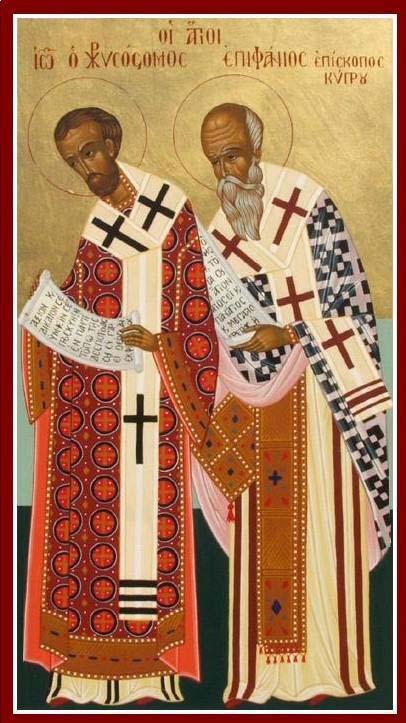 IMG ST. CHRYSOSTOM, Patriarch of Constantinople